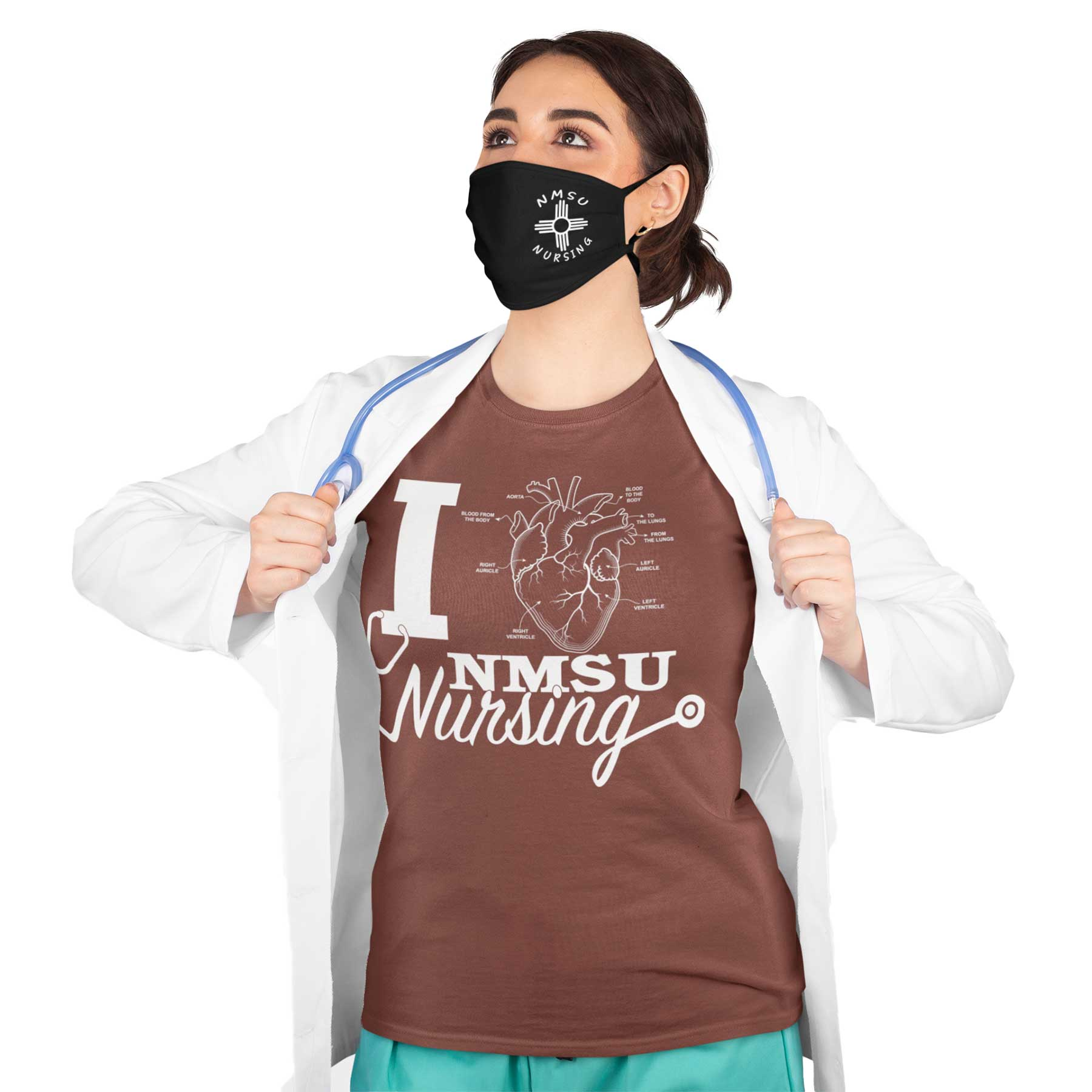 NMSU Nursing Zia Face Mask
