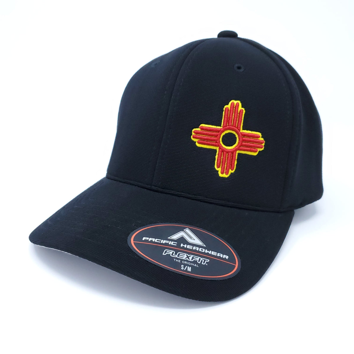 On Field Pro-Level Performance Embroidered Zia Fitted FlexFit Hat - Ragged Apparel Screen Printing and Signs - www.nmshirts.com