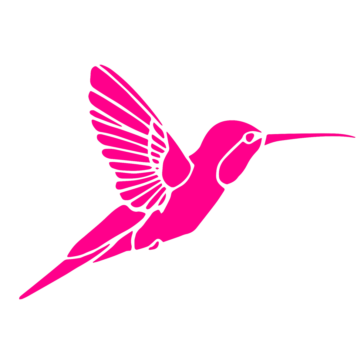 Hummingbird Vinyl Sticker Graphic Decal