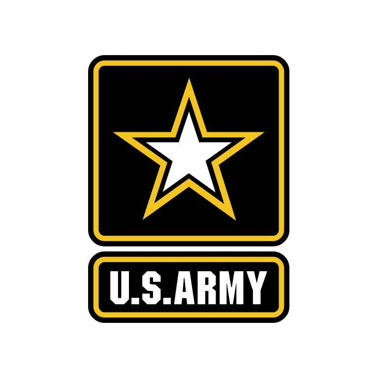 United States Army Graphic Decal - Ragged Apparel Screen Printing and Signs - www.nmshirts.com