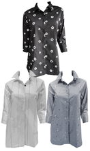 Load image into Gallery viewer, Bobbi Dazzler Long One Pocket Shirt - Grey