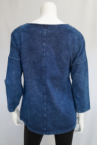 Your Song Denim Pullover