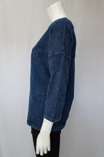 Load image into Gallery viewer, Your Song Denim Pullover