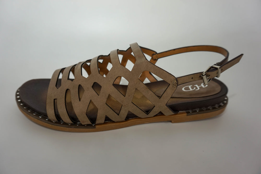 Hunky Dory Sandals Cut-Out Strap