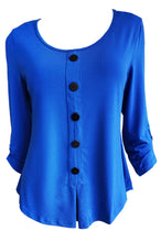 Load image into Gallery viewer, Bobbi Dazzler Button Henley