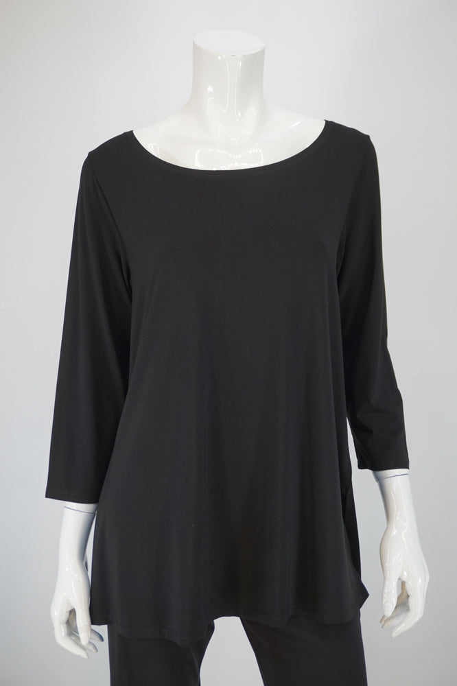 Bobbi Dazzler Basic Tunic - Black