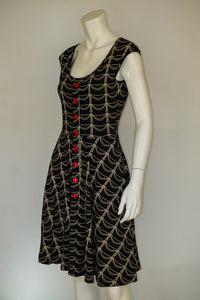 Effies Heart Hemingway Dress - Reliquary Print