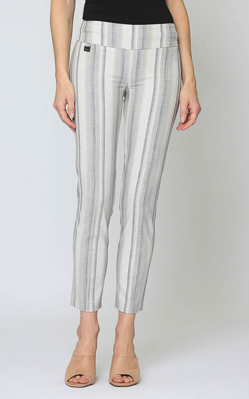 Lisette-L pants are designed and made in Canada and loved by women around the world. Stylish and modern designs in textured prints and solids and always a flattering comfy fit.