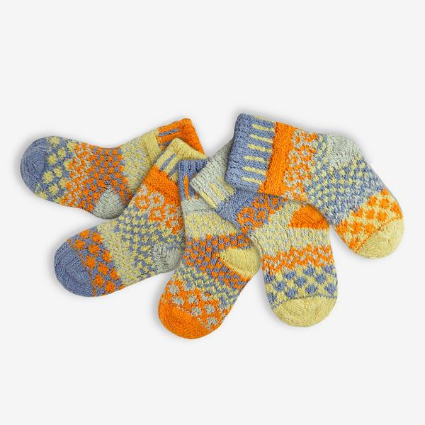 Solmate Socks Baby-Puddle Duck