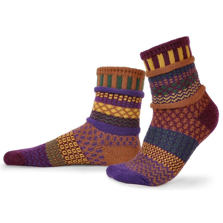 Solmate Socks-Fall Foliage
