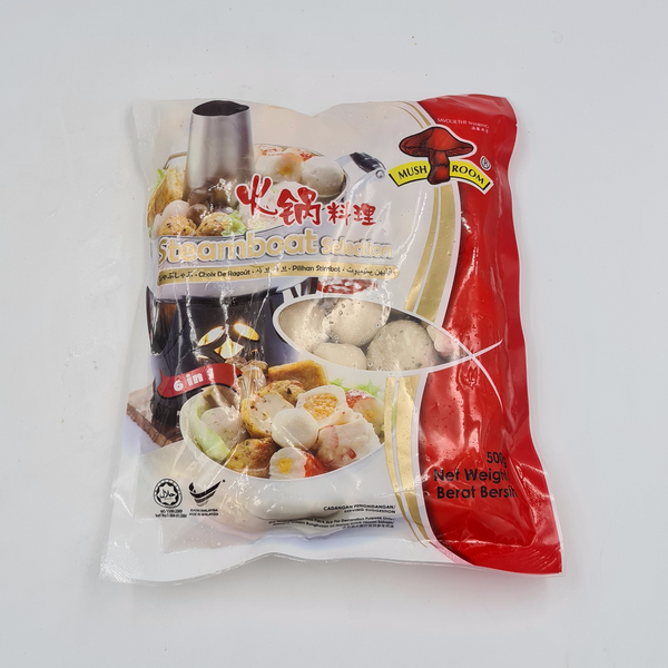 MUSHROOM Steamboat Selection 6 in 1 500g