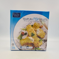 PACIFIC WEST Tempura Fish Fillets (550g)