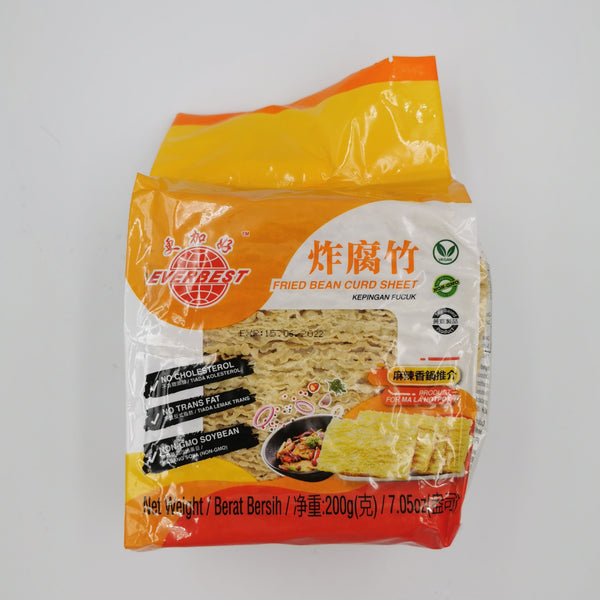 EVERBEST Fried Bean Curd Sheet 200g