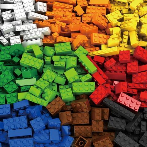 1000 Pieces Building Blocks City DIY Creative Bricks Bulk Model Figures Educational Kids Toys Compatible All Brands
