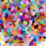 2.6mm 1000pcs/pack Perler Beads Iron Beads for kids Hama Beads Fuse Beads Diy Puzzles Mini mixcolor hama Beads quality Gift