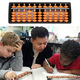 11 Digit Tool Abacus Arithmetic Kids Plastic Learning Math Help Calculating Toys Gifts