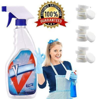 MULTIFUNCTIONAL EFFERVESCENT SPRAY CLEANER SET - pickichen