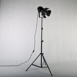Minimalist Retro Tripod Black Floor Lamp - Indoor Therapy