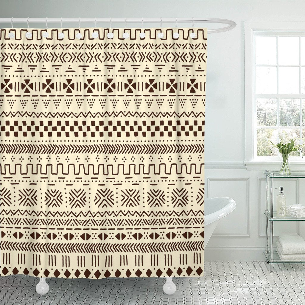 Mudcloth Shower Curtains - Indoor Therapy