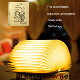 Wooden Book Light - Indoor Therapy