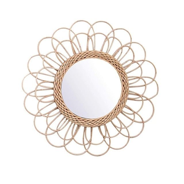 Sunflower Hanging Mirror - Indoor Therapy