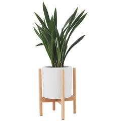 Indoor Wood Plant Flower Pot - Indoor Therapy