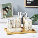 White Marble Bathroom Set - Indoor Therapy