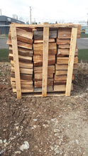 Load image into Gallery viewer, Premium Western Red Cedar Firewood - ½ cord pallet 4'by 4' by 4'
