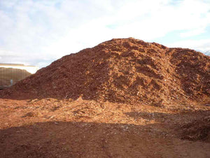 Western Red Cedar Bark Mulch  - 135 to 150 yard Bulk Load