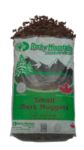 "Load image into Gallery viewer, Small 1"" to 2"" Douglas Fir Bark Nuggets -  2.0 Cubic Foot Bag"