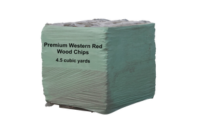 Western Red Cedar Wood Chips - 4.5 Cubic Yard Bales