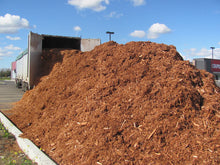 Load image into Gallery viewer, Western Red Cedar Bark Mulch  - 135 to 150 yard Bulk Load