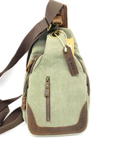 Load image into Gallery viewer, Acacia - Cross-Body Canvas and Leather bag