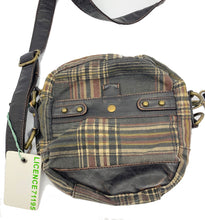 Load image into Gallery viewer, Licence 71195 Circular Plaid Canvas Bag