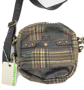Licence 71195 Circular Plaid Canvas Bag