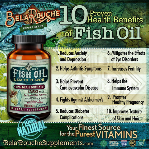 BelaRouche Supplements - Fish Oil