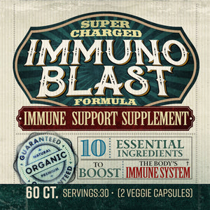 Immuno Blast | Super Charged Immune Support | Exclusive Formula | BelaRouche Supplements