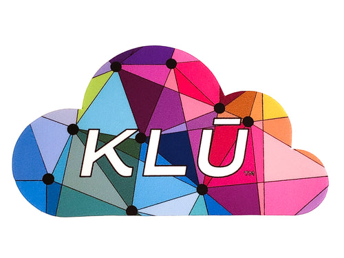 KLŪ Colorful Cloud Sticker