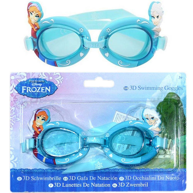 Disney Frozen Kids 3d Swimming Goggles Girls