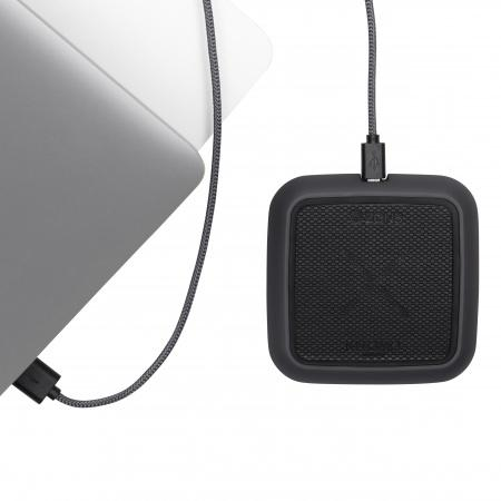 KNOMO Solo Power Pad Wireless Charger 10W Charcoal