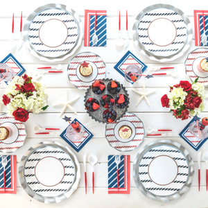 Anchors Away Table Setting