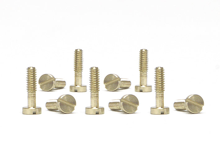 SICH52 Slot.It Long Slotted Screws, M2.2x8mm, Large Head