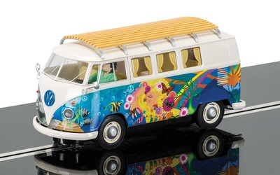 C3761 Scalextric VW Van - Love and Flower Power