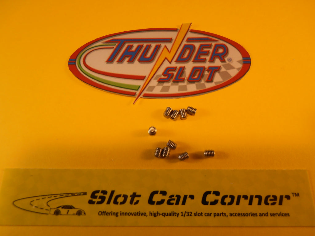 SC2.5HEX Thunder Slot Set Screws for Front Axle/Body, M2.5x3mm