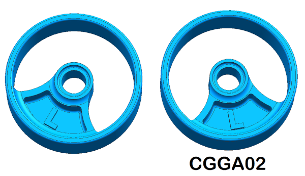 CGGA02 CG Slotcars Carrera Guide Adapter (Large)