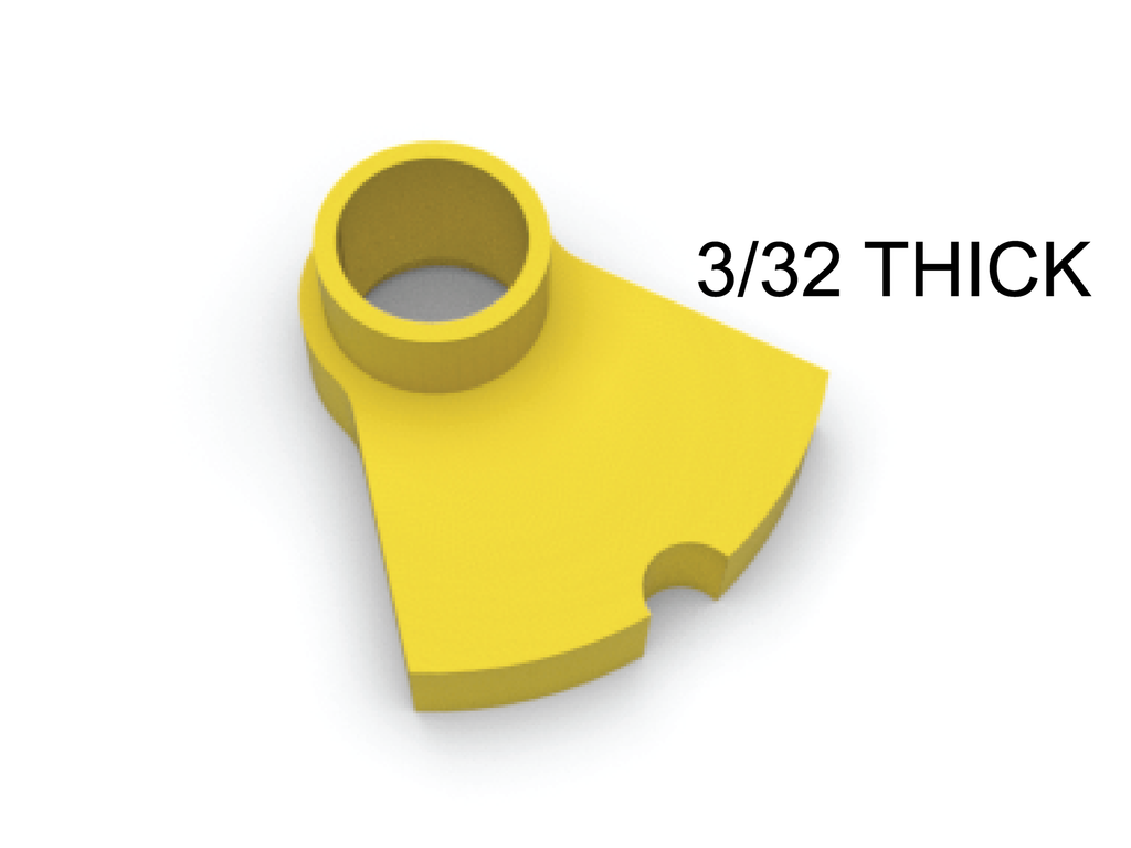 CGGA06 Scalextric Guide Post Repair / Adapter - 3/32''