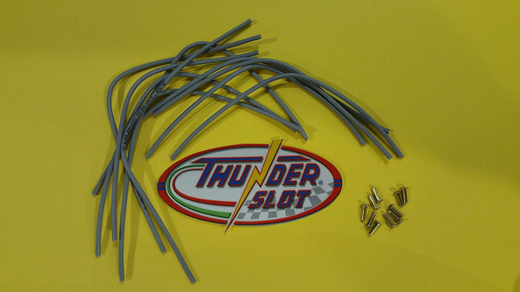 CLW001 Thunder Slot Pre-Ccut Silicone Motor Lead Wires with Eyelets