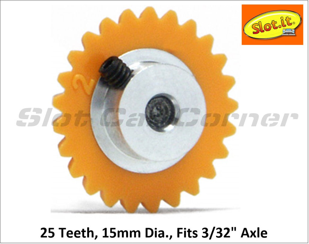 SIGA1525-PL Slot.It 15mm Plastic Anglewinder Gear, 25T