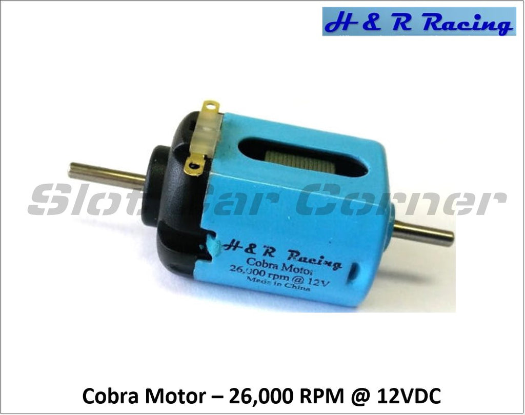 HRMC1 H&R Racing 26,000 RPM Cobra Motor, Short-Can