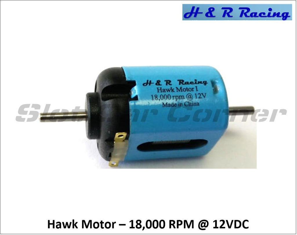 HRMC1 H&R Racing 18,000 RPM Hawk Motor, Short-Can